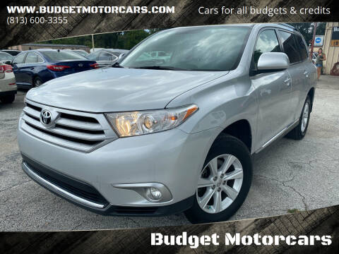 2012 Toyota Highlander for sale at Budget Motorcars in Tampa FL