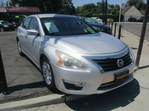 2013 Nissan Altima for sale at Quick Auto Sales in Modesto CA