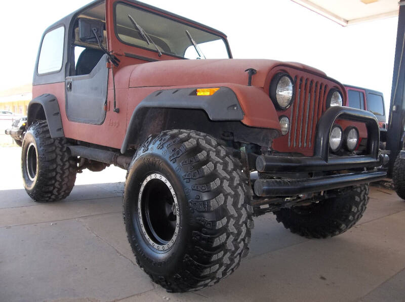 1976 Jeep CJ-7 for sale at Broken Arrow Motor Co in Broken Arrow OK