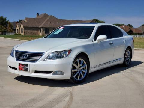 2008 Lexus LS 460 for sale at Chihuahua Auto Sales in Perryton TX