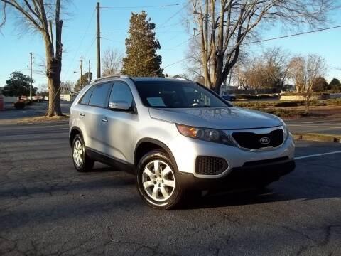 2012 Kia Sorento for sale at CORTEZ AUTO SALES INC in Marietta GA
