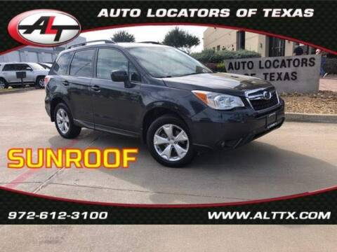 2016 Subaru Forester for sale at AUTO LOCATORS OF TEXAS in Plano TX