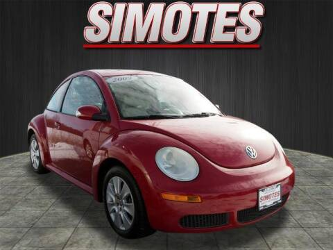 2009 Volkswagen New Beetle for sale at SIMOTES MOTORS in Minooka IL