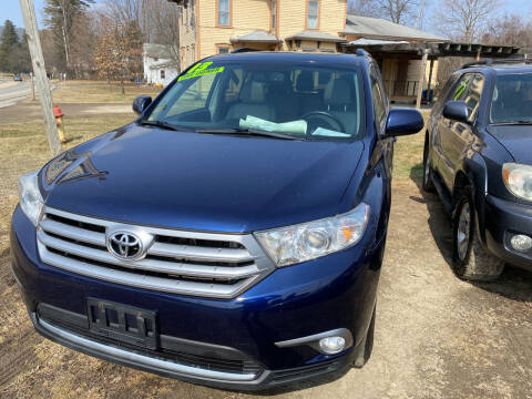 2013 Toyota Highlander for sale at Richard C Peck Auto Sales in Wellsville NY