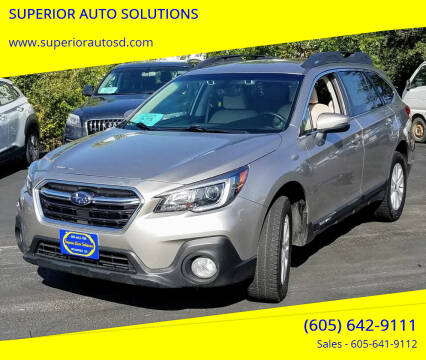2018 Subaru Outback for sale at SUPERIOR AUTO SOLUTIONS in Spearfish SD