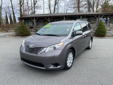 2016 Toyota Sienna for sale at Highland Auto Sales in Boone NC