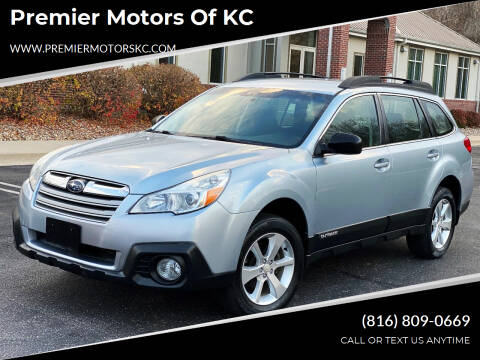 2014 Subaru Outback for sale at Premier Motors of KC in Kansas City MO
