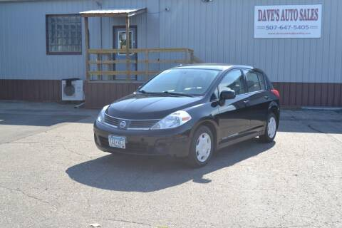 2009 Nissan Versa for sale at Dave's Auto Sales in Winthrop MN