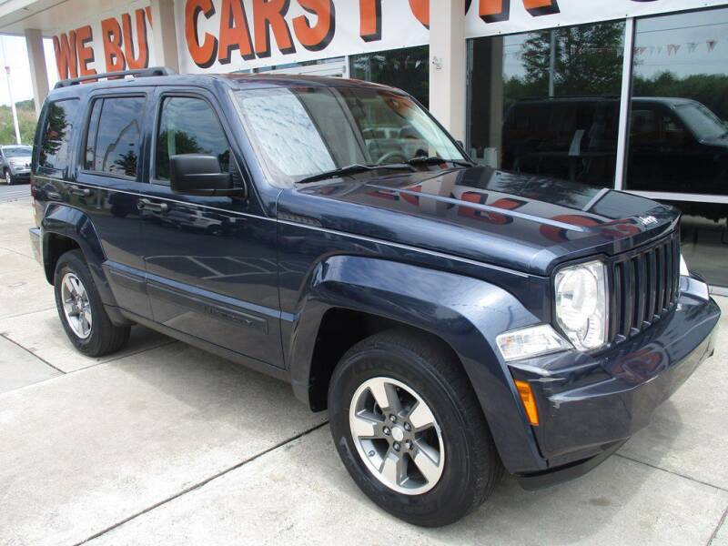 2008 Jeep Liberty for sale at Power On Auto LLC in Monroe NC