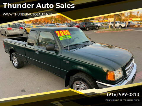 2002 Ford Ranger for sale at Thunder Auto Sales in Sacramento CA