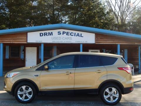 2014 Ford Escape for sale at DRM Special Used Cars in Starkville MS
