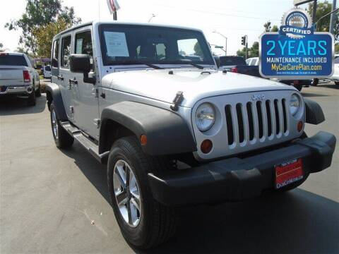 2008 Jeep Wrangler Unlimited for sale at Centre City Motors in Escondido CA