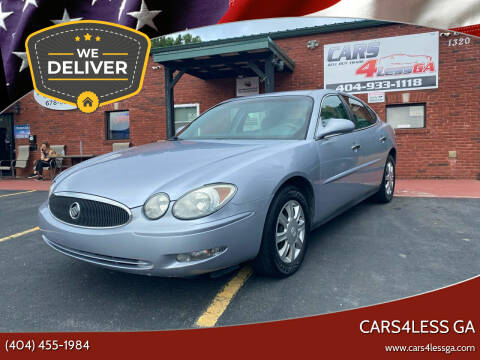 2006 Buick LaCrosse for sale at Cars4Less GA in Alpharetta GA