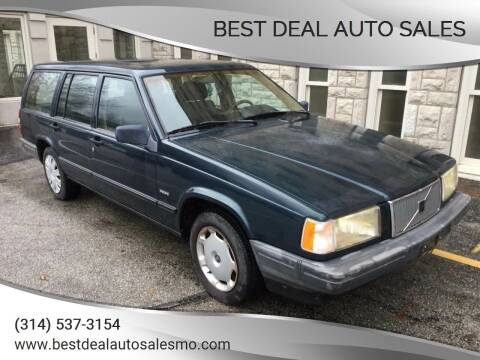 1992 Volvo 740 for sale at Best Deal Auto Sales in Saint Charles MO