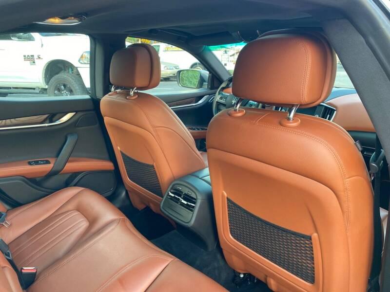 2016 Maserati Ghibli AWD S Q4 4dr Sedan - Elizabeth NJ