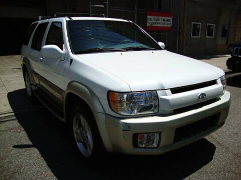 2001 Infiniti QX4 for sale at Discount Auto Sales in Passaic NJ
