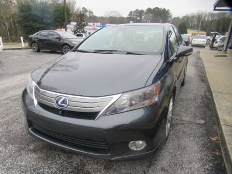 2010 Lexus HS 250h for sale at 1st Choice Autos in Smyrna GA