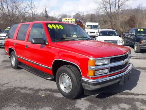 1995 Chevrolet Tahoe for sale at Rocket Center Auto Sales in Mount Carmel TN
