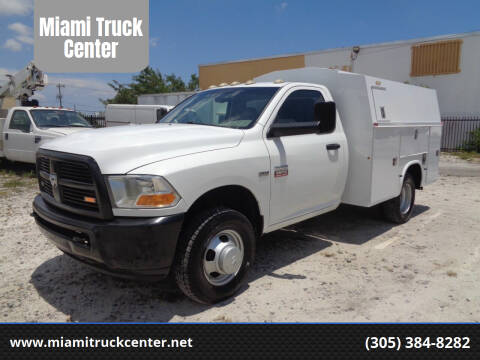 2012 Dodge Ram Chassis 3500 for sale at Miami Truck Center in Hialeah FL