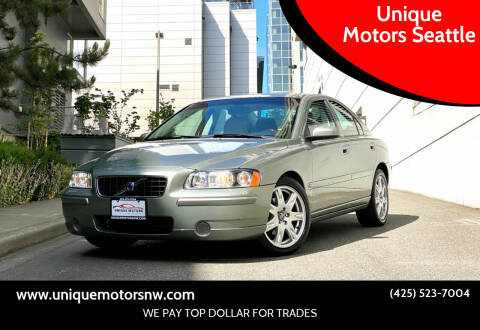 2006 Volvo S60 for sale at Unique Motors Seattle in Bellevue WA