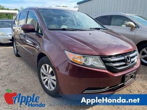 2017 Honda Odyssey for sale at APPLE HONDA in Riverhead NY