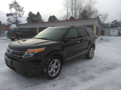 2013 Ford Explorer for sale at Pepp Motors in Marquette MI