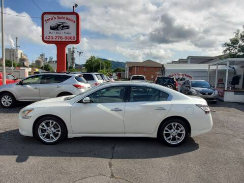 2014 Nissan Maxima for sale at Ford's Auto Sales in Kingsport TN