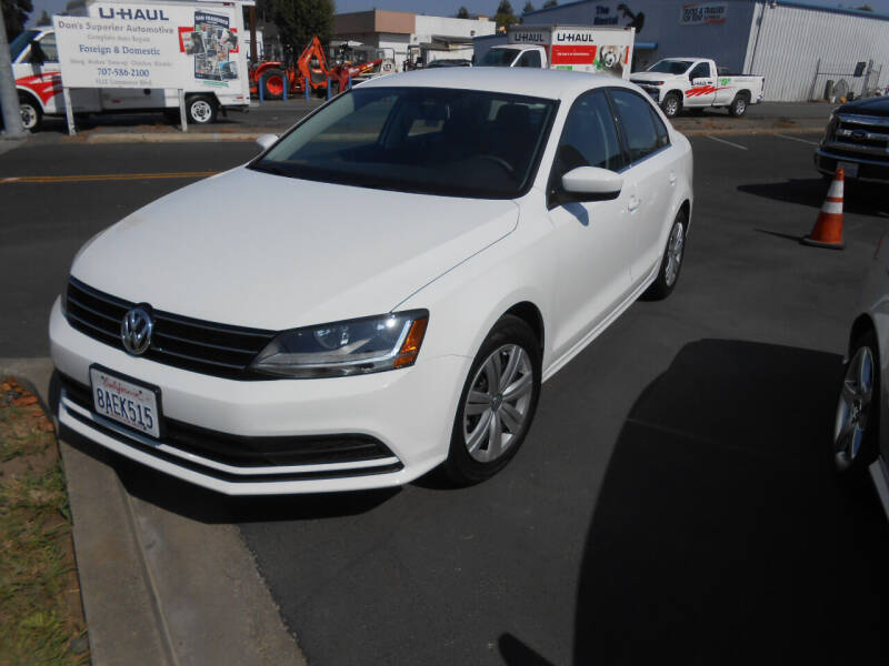 2017 Volkswagen Jetta for sale at Sutherlands Auto Center in Rohnert Park CA