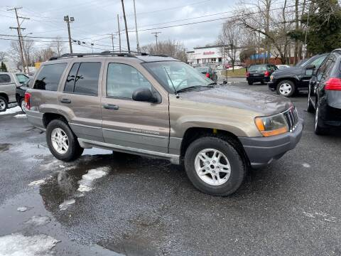 2002 Jeep Grand Cherokee for sale at Affordable Auto Detailing & Sales in Neptune NJ