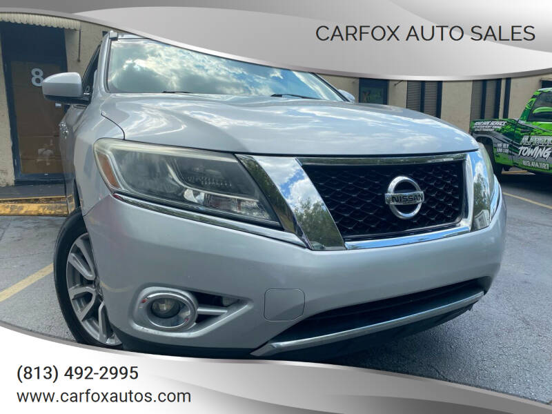 2013 Nissan Pathfinder for sale at Carfox Auto Sales in Tampa FL