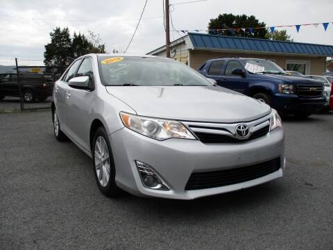 2012 Toyota Camry for sale at Supermax Autos in Strasburg VA