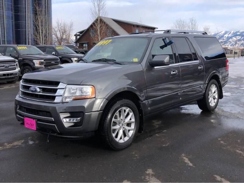 2015 Ford Expedition EL for sale at Snyder Motors Inc in Bozeman MT