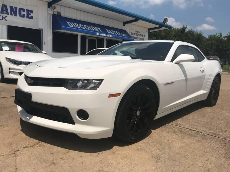 2015 Chevrolet Camaro for sale at Discount Auto Company in Houston TX