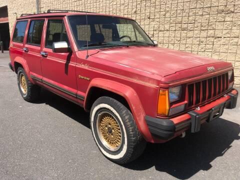 1988 Jeep Cherokee for sale at Z Motorz Company in Philadelphia PA