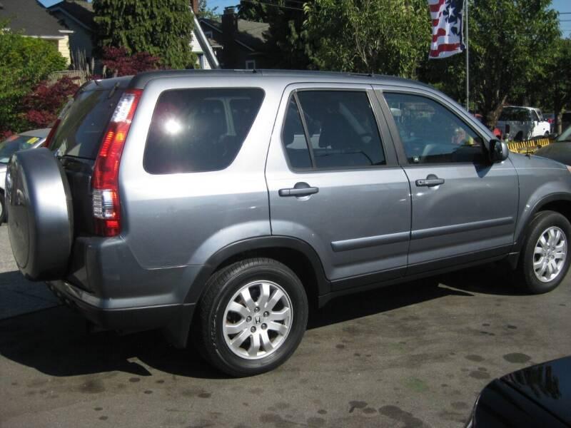 2006 Honda CR-V for sale at UNIVERSITY MOTORSPORTS in Seattle WA