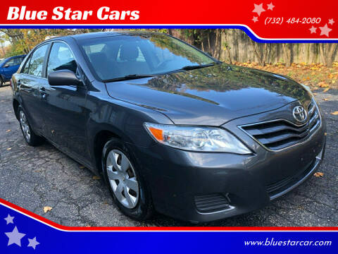 2010 Toyota Camry for sale at Blue Star Cars in Jamesburg NJ