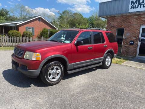 2003 Ford Explorer for sale at Monroe Auto Sales Inc in Wilmington NC