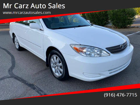 2002 Toyota Camry for sale at Mr Carz Auto Sales in Sacramento CA
