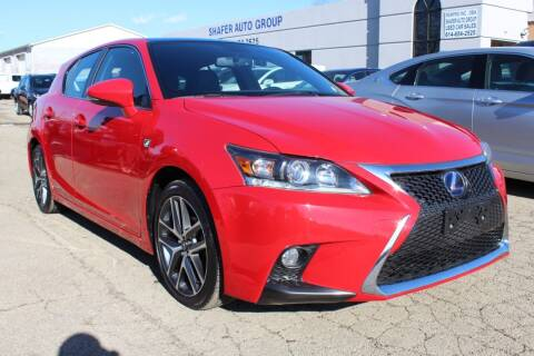 2017 Lexus CT 200h for sale at SHAFER AUTO GROUP in Columbus OH