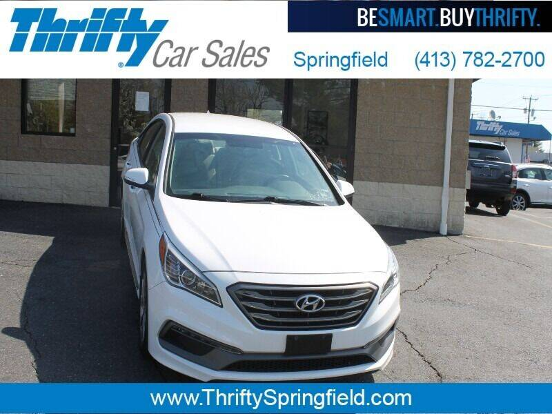 2017 Hyundai Sonata for sale at Thrifty Car Sales Springfield in Springfield MA