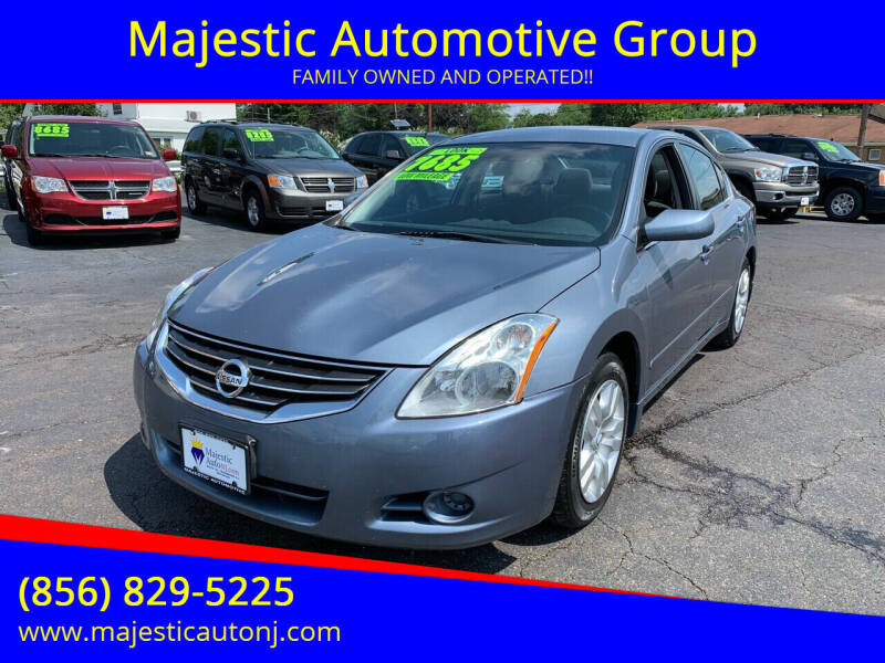 2012 Nissan Altima for sale at Majestic Automotive Group in Cinnaminson NJ