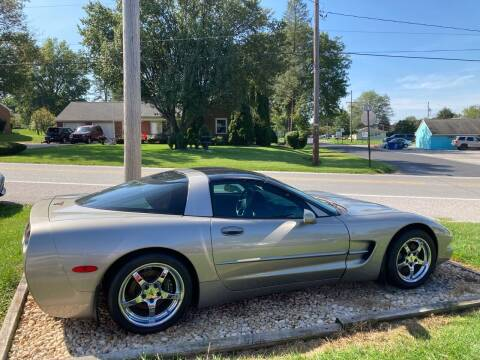 2002 Chevrolet Corvette for sale at LAUER BROTHERS AUTO SALES in Dover PA