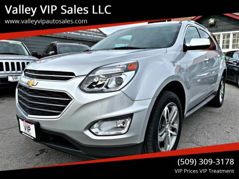 2016 Chevrolet Equinox for sale at Valley VIP Auto Sales LLC in Spokane Valley WA