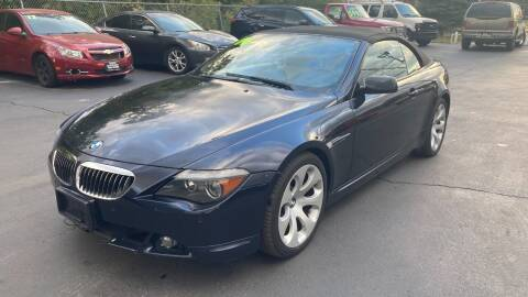 2006 BMW 6 Series for sale at ROUTE 6 AUTOMAX in Markham IL