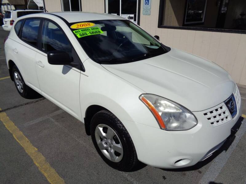 2008 Nissan Rogue for sale at BBL Auto Sales in Yakima WA
