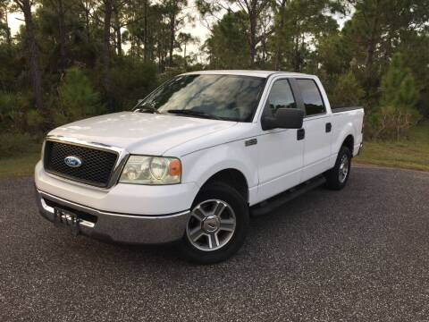 2007 Ford F-150 for sale at VICTORY LANE AUTO SALES in Port Richey FL