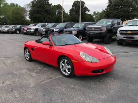 2002 Porsche Boxster for sale at WILLIAMS AUTO SALES in Green Bay WI