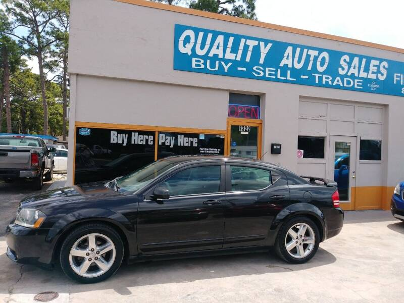 2008 Dodge Avenger for sale at QUALITY AUTO SALES OF FLORIDA in New Port Richey FL