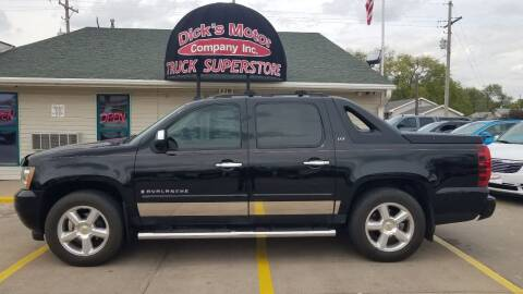 2007 Chevrolet Avalanche for sale at DICK'S MOTOR CO INC in Grand Island NE