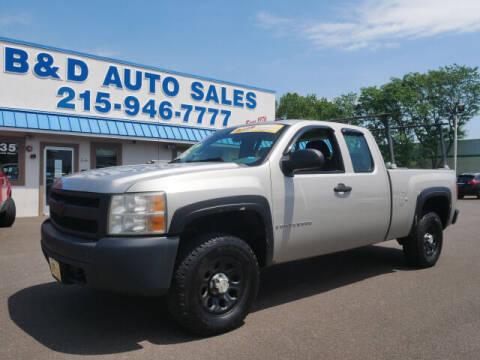 2007 Chevrolet Silverado 1500 for sale at B & D Auto Sales Inc. in Fairless Hills PA